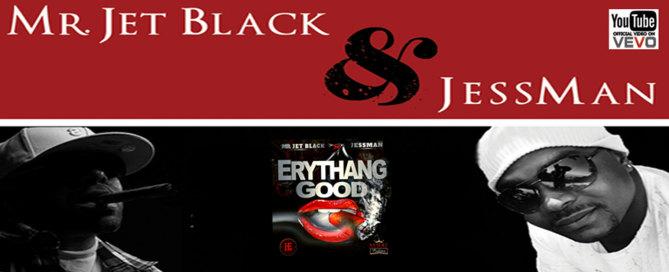 Mr Jet Black and JessMan music on BoomBoomCHik